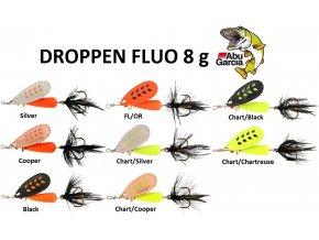 Abu Garcia třpytka Droppen Fluo 8 g