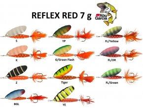 Abu Garcia třpytka Reflex Red 7 g