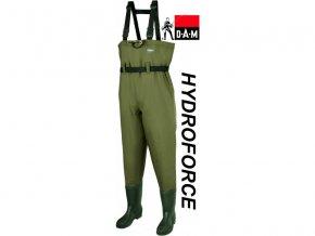 DAM brodící kalhoty Hydroforce Nylon Taslan Chestwader