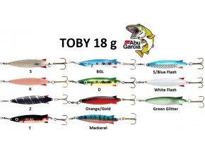 Abu Garcia třpytka Toby 18 g
