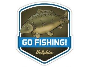 Delphin samolepka Kapr Go Fishing!