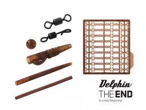 Delphin set kaprařských montáží The End - 10 ks