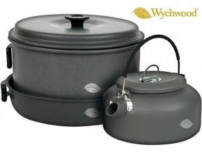 Wychwood kempingové nádobí 6 Piece Pan & Kettle Set