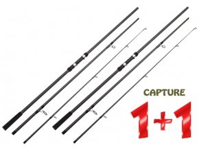 JAF Capture kaprový prut Carp Progress 12 ft/3 lb 3díly - AKCE 1+1