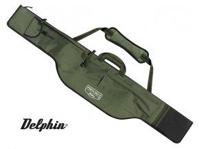Dvoukomorové pouzdro Delphin Porta 360-3 - dlouhá kapsa