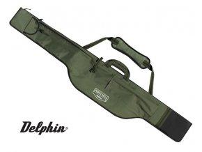 Dvoukomorové pouzdro Delphin Porta 390-3 - dlouhá kapsa