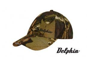 Kšiltovka Delphin s LED