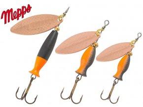 MEPPS rotační třpytka Aglia Long Heavy Cooper Black Orange