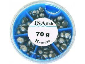JSA Fish broky hrubé 70 g