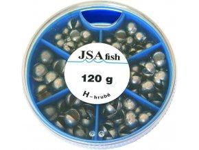JSA Fish broky hrubé 120 g