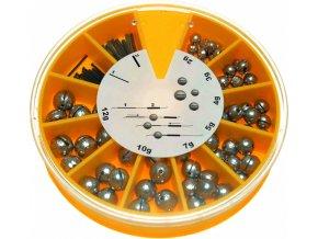 Olověné kuličky výměnné sada JSA Fish 2 12 g
