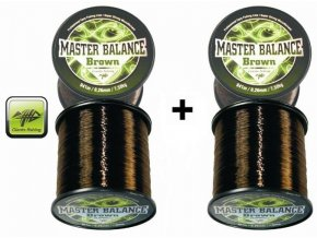 Giants Fishing vlasec Carp Master Balance Brown 0,26 mm/941 m - AKCE 1+1