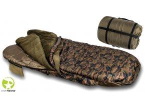 Starfishing spací pytel Repus PRO 365 2v1 Fleece Camo