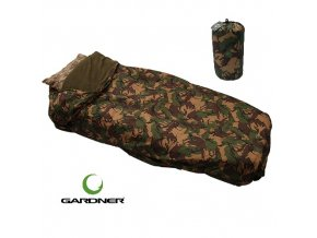 Gardner přehoz Camo DPM Bedchair Cover and Bag