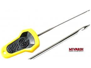 Mivardi jehla MC Boilie splicing needle - žlutá