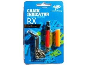 Řetízkový swinger Giants Fishing Chain Indicator RX Red/Orange