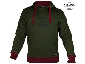 Mikina Carpstyle Green Forest Hoodie
