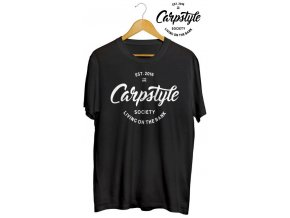 Tričko Carpstyle T-Shirt 2018 Black