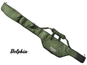 Dvoukomorové pouzdro Delphin Porta 390-2 - dlouhá kapsa