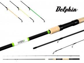 Prut DelphinPrut Delphin Hybrix Picker + 3 špičky / Match 270, 300, 330, 360 cm