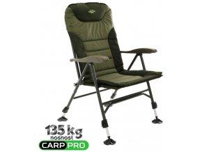 Carp Pro rybářské křeslo Carp Chair II