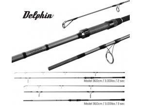 Prut Delphin Torks EVA 300, 360 cm