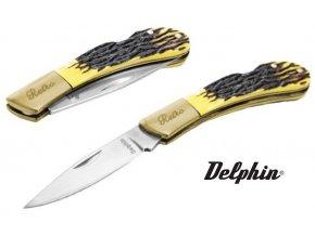 Skládací nůž Delphin Retro - čepel 7 cm