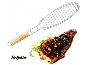 Rošt na rybu Delphin Grilla 30 x 11 cm
