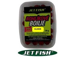 Jet Fish rohlíkové boilies 30 g