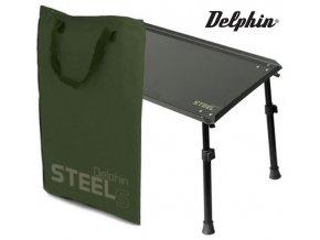 Delphin rybářský stolek Steels