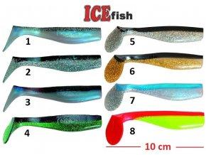 ICE Fish vláčecí nástraha ryba SD 2B - 10 cm