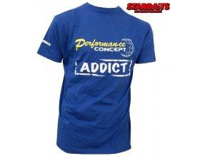 Tričko Starbaits Concept Addict Blue