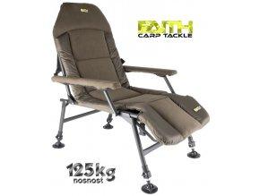 Faith rybářské křeslo Lounge Chair XL