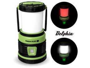 Kempingová lampa Delphin AURA