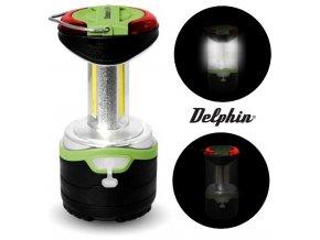 Kempingová lampa Delphin LUNA