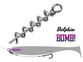 Delphin BOMB! Twisto O-LOCK přívlačový systém - 5 ks
