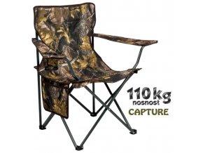 JAF Capture rybářská sedačka Camo ZZP Camp Chair