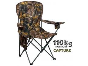 JAF Capture rybářská sedačka Camo XXL Big Camp Chair
