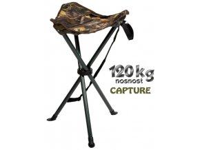 JAF Capture rybářská stolička Camo TRC-55 Tripod
