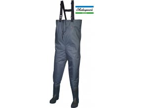 Prsačky Shakespeare Sigma Nylon PVC Chest Wader Cleated Sole