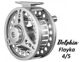 Delphin muškařský naviják Flayka #4/5