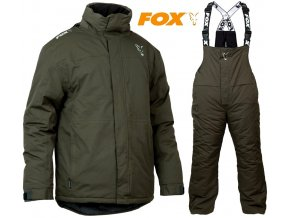 FOX zimní oblek Collection Green/Silver Carp Winter Suit