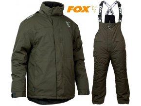 FOX zimní oblek Collection Green/Silver Carp Winter Suit