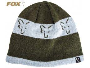 Čepice FOX Green/Silver Beanie