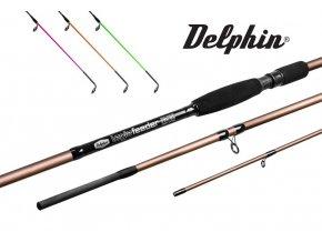 Feederové špičky Delphin Legia Feeder II 120 g - sada 3 ks