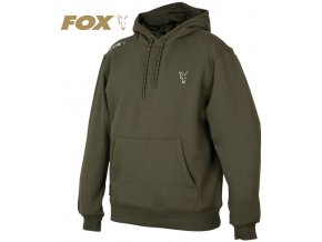 Mikina FOX Collection Green/Silver Hoodie