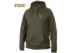 Mikina FOX Collection Green/Silver LW Hoodie