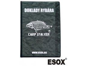 Obal na rybářské doklady ESOX Carp Stalker