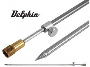 Delphin rybářská vidlička ocelová se závitem