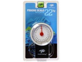 Giants Fishing váha s metrem Fishing Scale 22 kg
